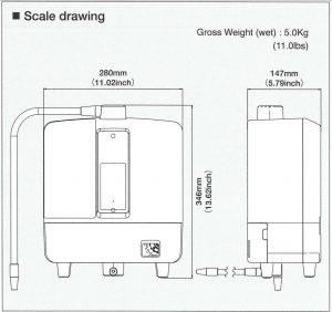 Kangen 8 Scale Drawing