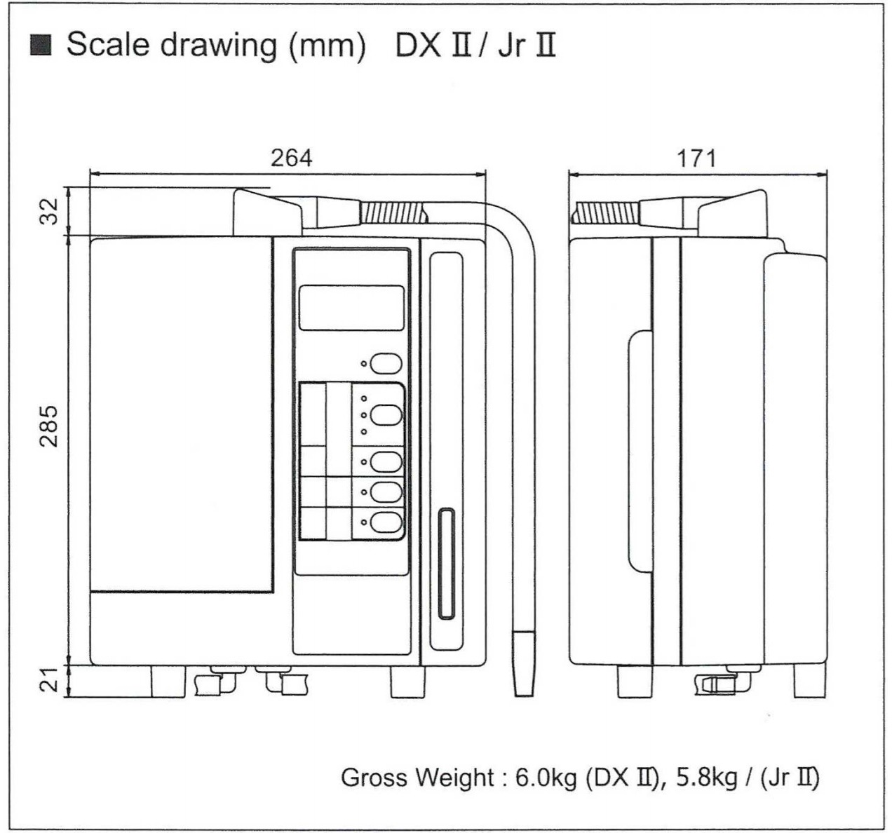 LeveLuk JR II Scale Drawing