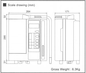 LeveLuk SD 501 Scale Drawing